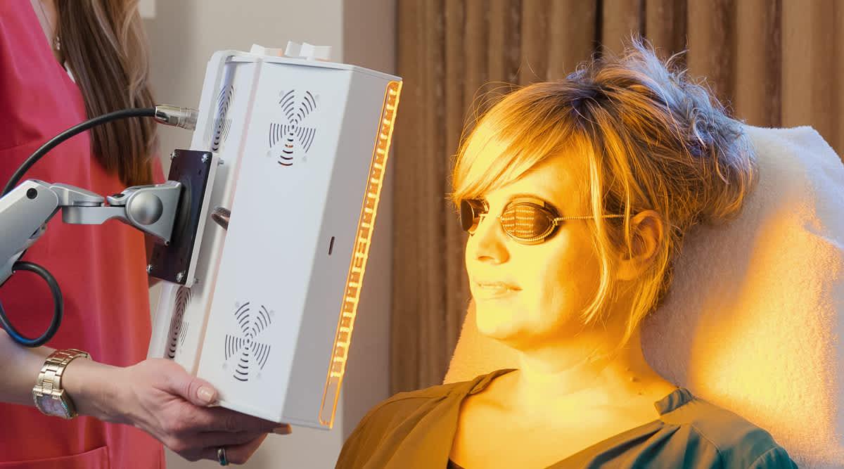 LED-Lichttherapie