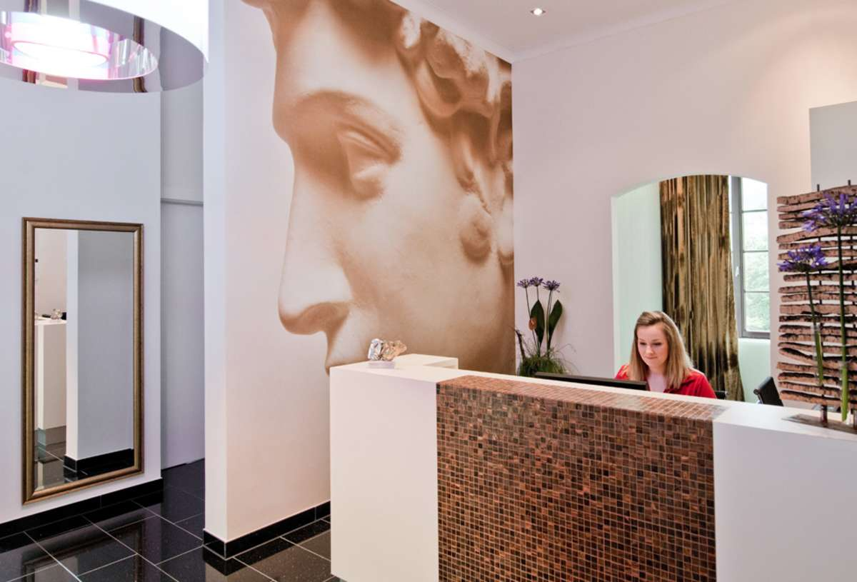 Empfang HNO bei SKIN AND FACE